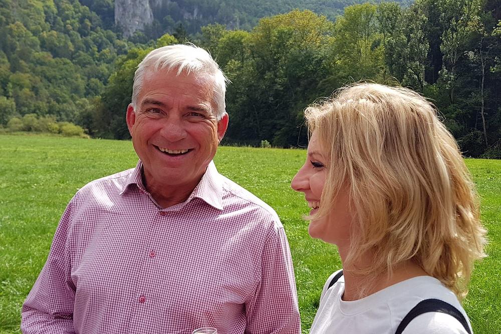 Innenminister Thomas Strobl, Lisa Bux, BIOS-BW e.V.