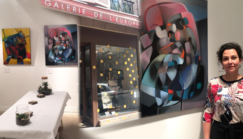 Exposition à la galerie de l'Europe