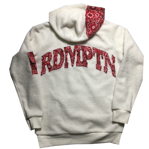 RDMPTN Red Paisley Fleece Pullover