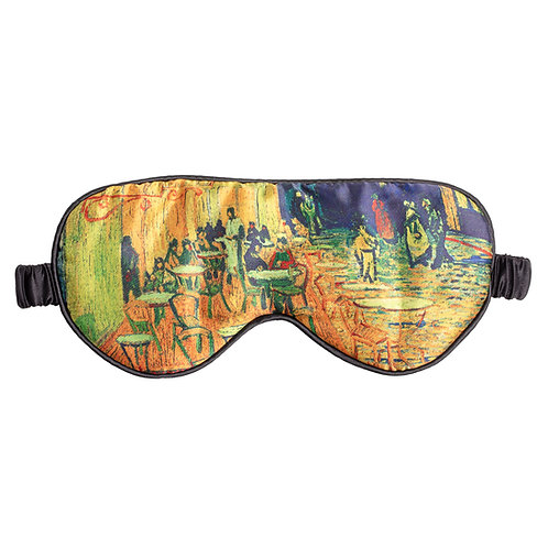 Van Gogh Café Terrace Sleeping Mask