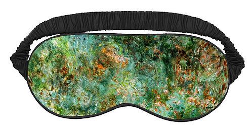 The House at Giverny Viewed From Rose Garden Sleeping Mask