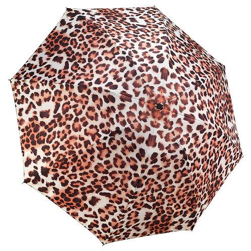 Leopard Skin Full Color RC Folding Umbrella