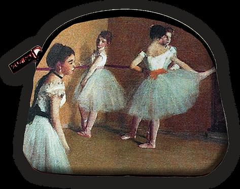 Degas Ballet Lesson Cosmetic Bag