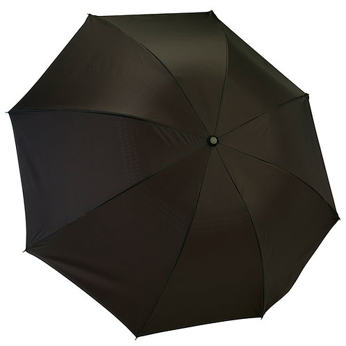 Black / Red Folding Umbrella Reverse Close