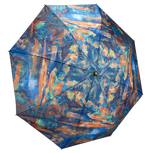 Paul Cezanne, The Brook Folding Umbrella