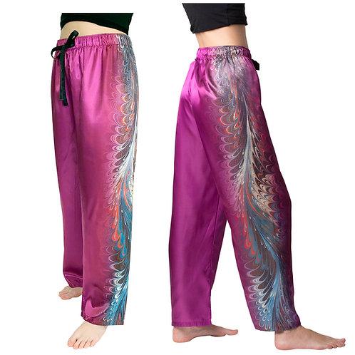 Holly hill-Satin Pajama Pants