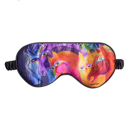 Laurel Burch Wild Horses of Fire Sleeping Mask