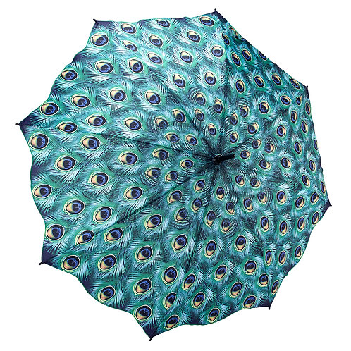 Peacock Stick Umbrella