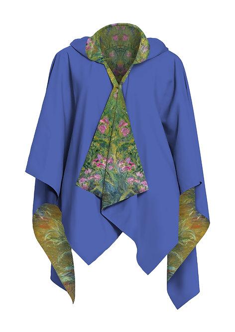 Irises by Monet RainCape