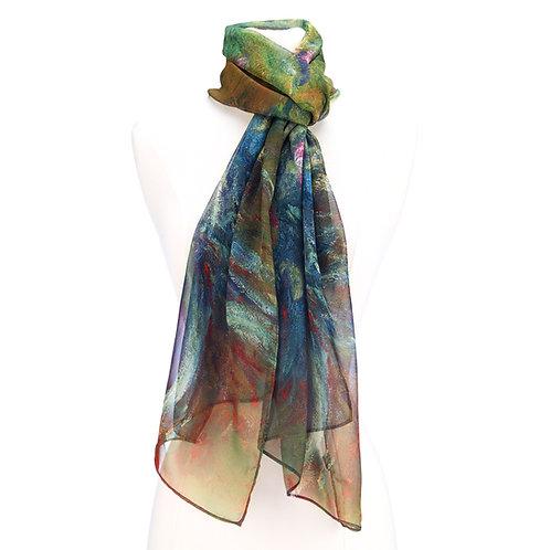 Irises by Monet Scarf