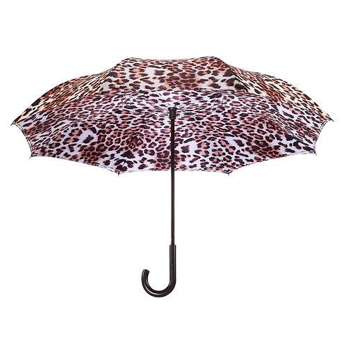 Leopard Skin Full Color RC Stick Umbrella