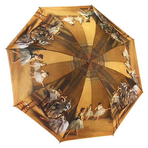 Ballerinas Reverse Close Folding Umbrella