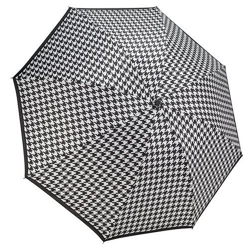 Houndstooth RC Folding Umbrella