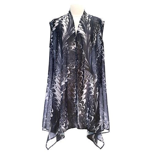 Salt & Peppa Sheer Long Vest