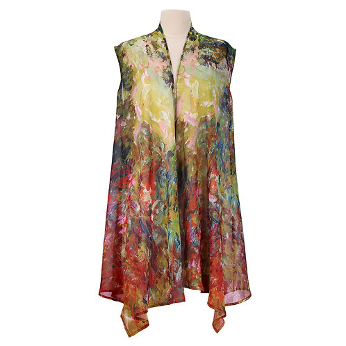 Artist's House from Rose the Garden Sheer Long Vest