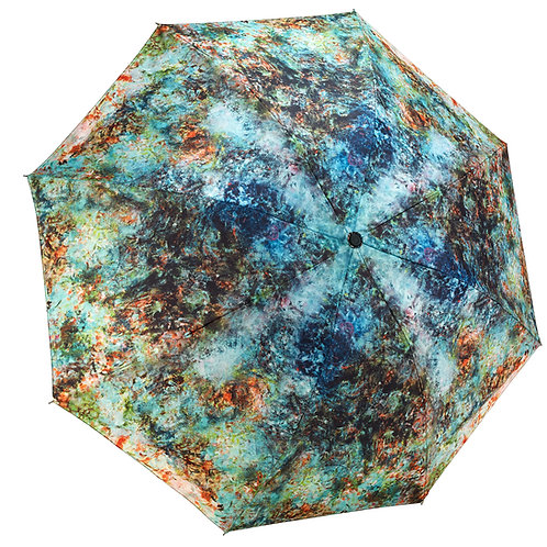 The House at Giverny Viewed From Rose Garden RC Folding Umbrella