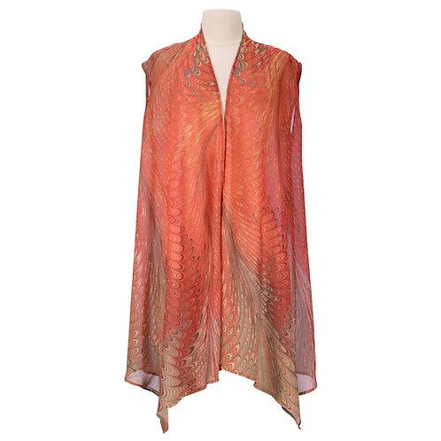 Dahlia Sheer Long Vest