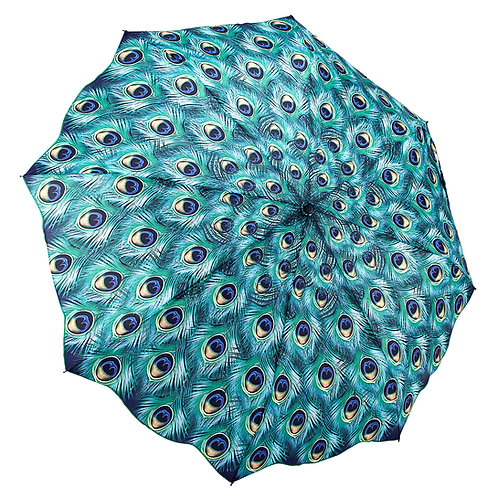 Peacock Folding Umbrella
