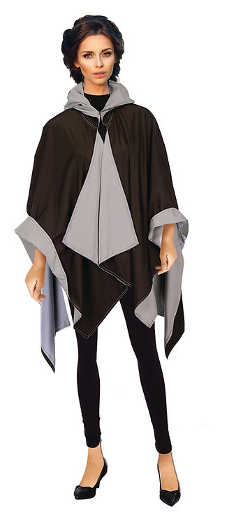Black/Grey RainCape