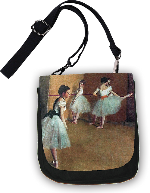 Degas Ballet Lesson Cross Body