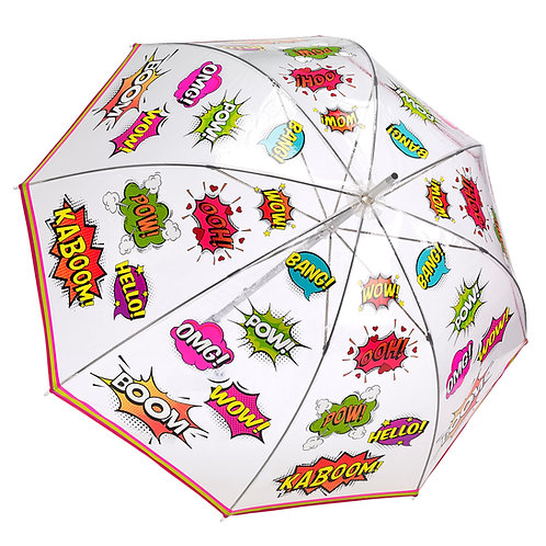 Comic Book Bubble Umbrella