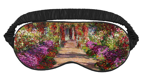 Pathway to Monets Garden Sleeping Mask