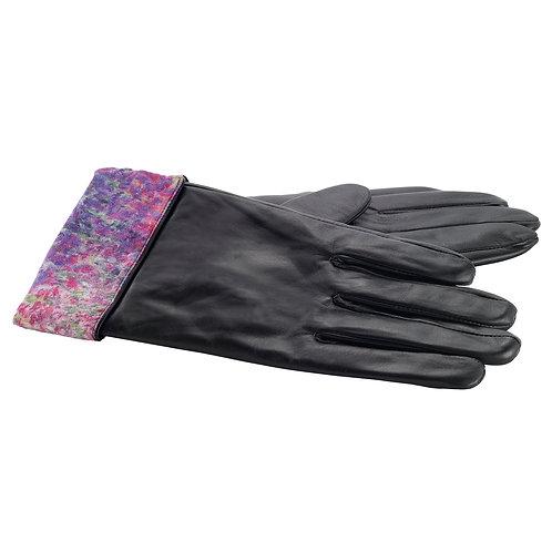 Monet's Garden Leather Gloves