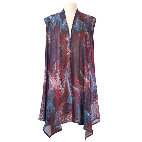 Hollyhill Sheer Long Vest
