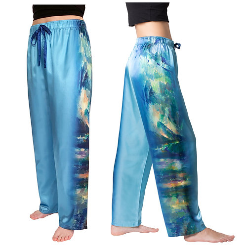 Cezanne The Brook Satin Pajama Pants