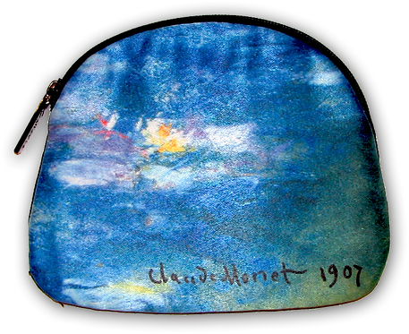 Monet Water Lilies Cosmetic Bag