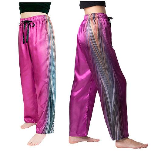 Midnight Satin Pajama Pants