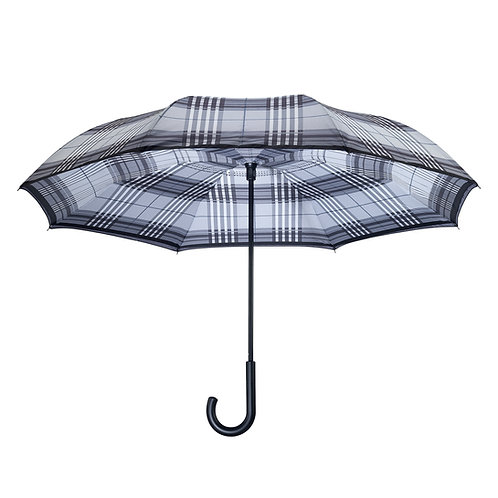 Tartan Plaid RC Stick Umbrella