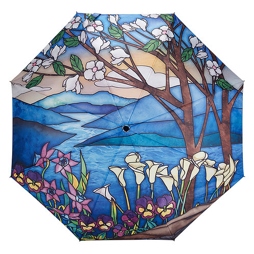Stained Glass Landscape Folding