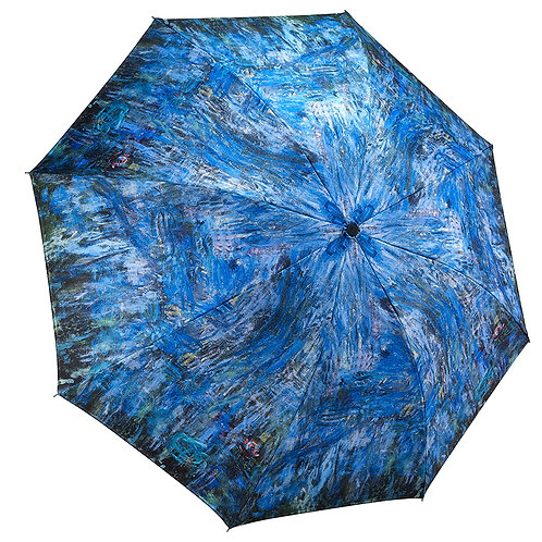 Waterlilies and Reflection of a Willow Tree RC Fodling Umbrella