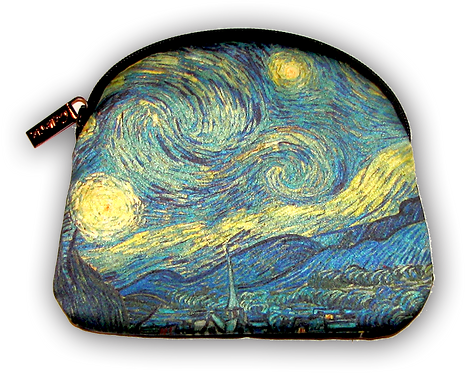 Van Gogh Starry Night Cosmetic Bag