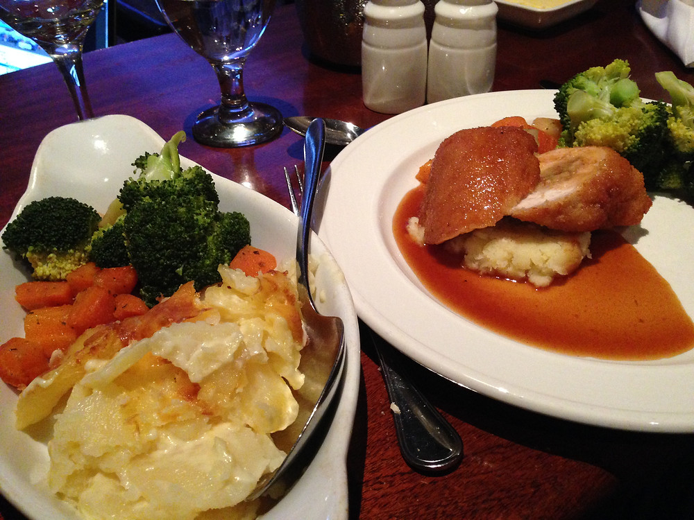 Ballygarry House Hotel main chicken