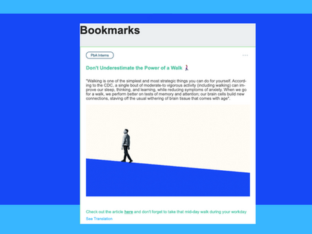 Introducing Bookmarks: Keeping track of what matters