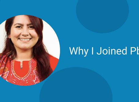 Why I joined PbA: Marilyn Oliva, Digital Media Producer