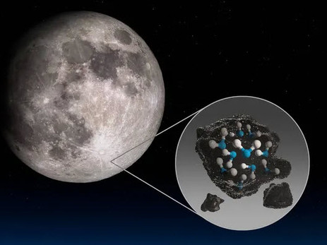 La NASA confirme la présence d'eau sur la Lune
