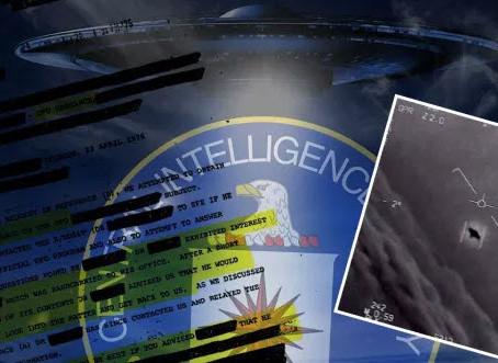 La CIA déclassifie  les documents OVNI pour que quiconque puisse les télécharger