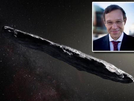 Un professeur de Harvard dit qu'un extraterrestre a rendu visite en 2017 - et d'autres sont à venir