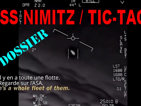 USS NIMITZ / TIC-TACs : le Dossier