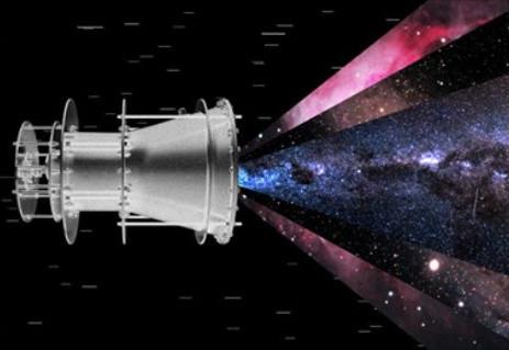 un propulseur qui pourrait atteindre la vitesse de la lumière