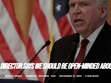 """Un ancien Directeur de la CIA : """"nous devrions rester ouverts d'esprit à propos des ovnis"""""""