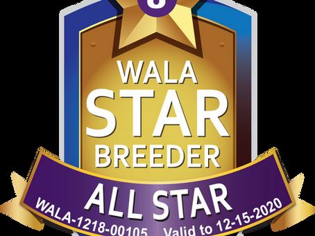 WALA 8 Stars !!