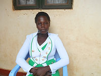 Kide Eveline is studying to be a midwife