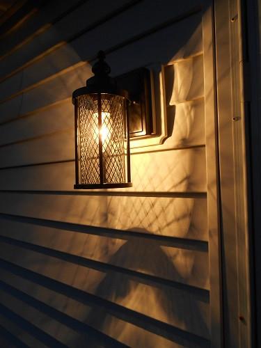 Front Entryway Lighting - AFTER - Night Illumination