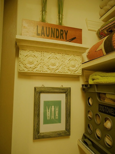 Laundy Room Closet Decor