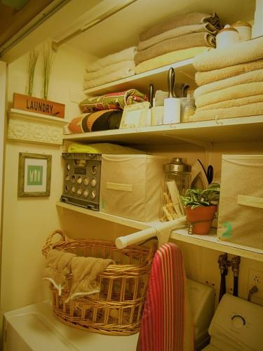 Laundy Room Closet Reorganization
