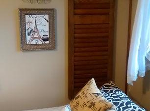Transformation of a tween bedroom to a serene bedroom